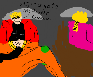Dio says yes to Giorno. He is a good Dad
