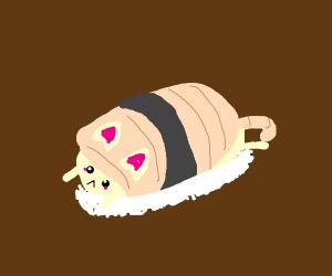 Kitty Sushi Kawaii