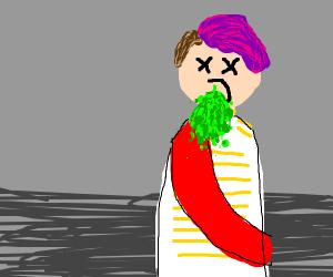 barfing prince