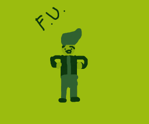 Fallout boy laughing at you