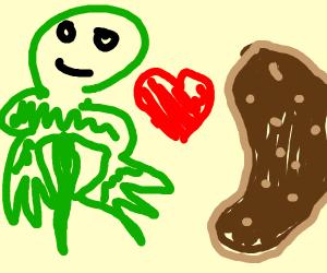 frog likes potatoes