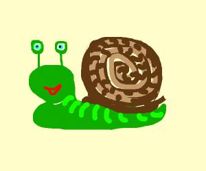 A snail (RadicalDadical will draw the phrase)