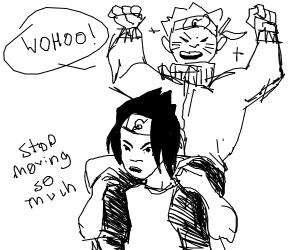 naruto on sasuke