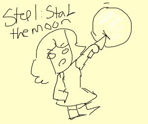 Step 1: Stab the moon