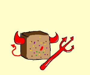devil fruitcake