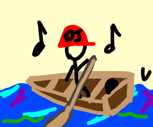 DJ crossing the Ocean