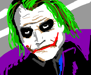 Joker thinks we live in a society