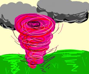 pink tornado!