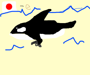 japanes orca with a gun