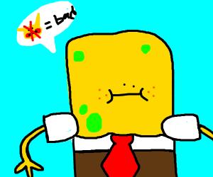 SpongeBob realises Pikachu racism is bad