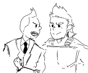 Tintin vs Anime guy
