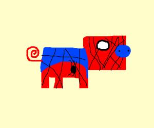 spider pig is sad