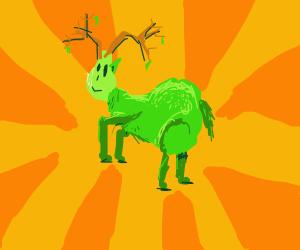Pear-deer