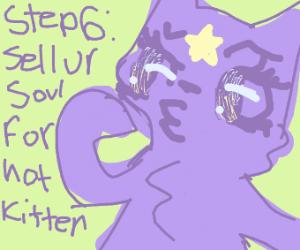 Step 5: Meet a younger, hotter kitten