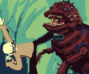 Chevic vs Spider Monster