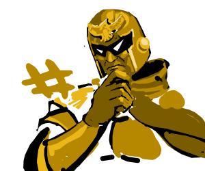 Captain Falcon is interested in a #