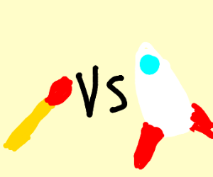 Match vs. Rocket Ship