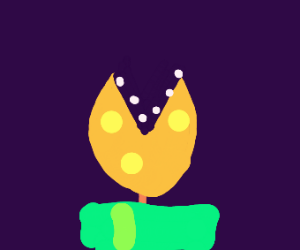 Gold Piranha Plant