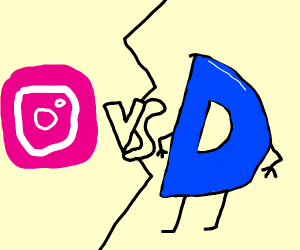 Instagram VS Drawception