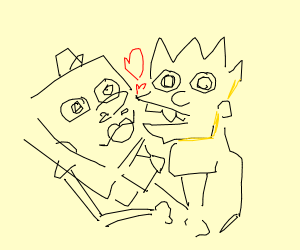 Bart Simpson x Spongebob