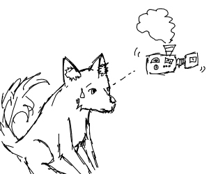 Coyote and machinery?