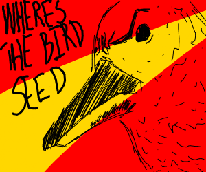 Angered birb