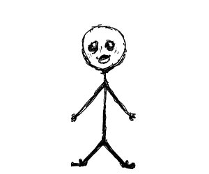 Extremely Detailed Stickman