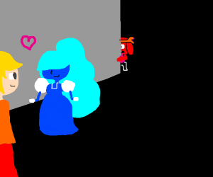 sapphire cheating on ruby with some guy