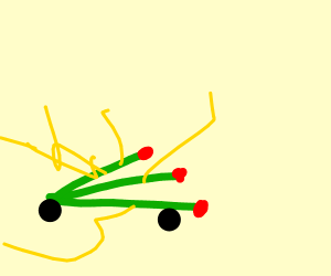 Electric Radish Car