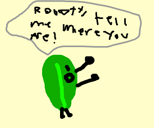 roboty, tell me where you are!