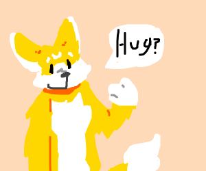 furry looking for a hug