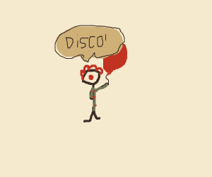 disco clown