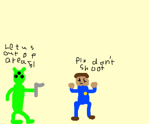 """Aliens send """"friendly"""" message to humans"""