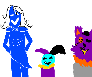 Rouxls Kaard, Seam And Jevil