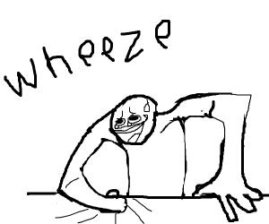 Wheeze meme