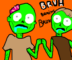 Zombie bruh moment