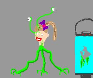 A jojo alien