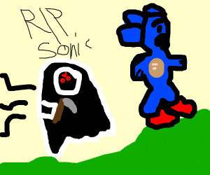 Rip sonic he could not out run death