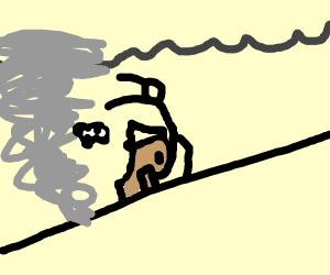 running from tornado