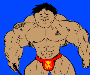 Muscle Harry Potter