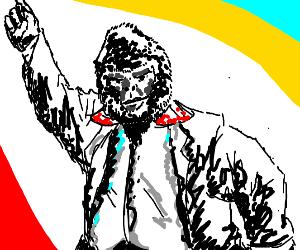 80s gorilla man