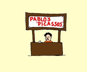 Pablo selling some drugs