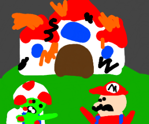 ONOES!! Zombie outbreak in Mushroom Kingdom!
