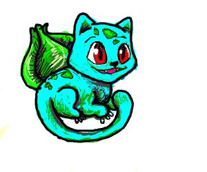 Bulbasaur Cat