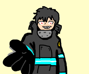 Fire Fighter wants to hold hands