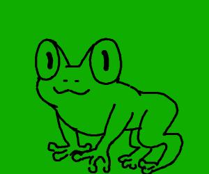 OwO frog face