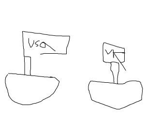 U.S.A. and U.K. ship