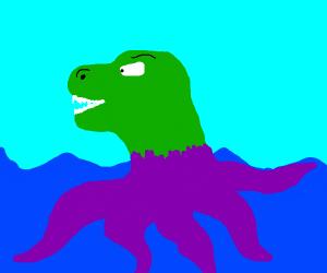 t rex octopus