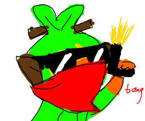 Grooky joins a gang