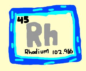 Rhodium (element)
